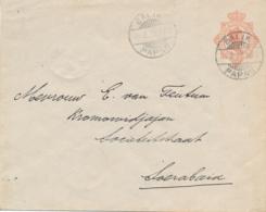 Nederlands Indië - 1922 - 12,5 Cent Wilhelmina, Envelop G43 Van LB BALIK/PAPAN Naar Soerabaja - Nederlands-Indië