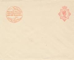 Nederlands Indië - 1930 - 12,5 Cent Wilhelmina Met Luchtpostreklame, Envelop G54a - Ongebruikt - Nederlands-Indië
