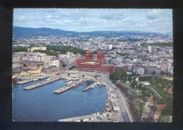 Oslo. *View Of The Town...* Circulada Matasellos Bureau D'Echange D'Oslo 1972. - Noruega