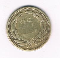 25 KURUS 1956  TURKIJE /8408/ - Turquie
