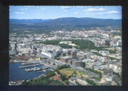 Oslo. *The Harbour...* Circulada. - Noruega