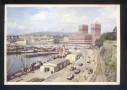 Oslo. *Radhuset* Circulada Oslo 1953. - Noruega