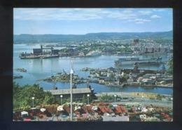 Oslo. *The 19,5 Miles Long Harbour...* Circulada Oslo 1966. - Noruega