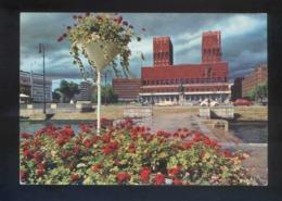 Oslo. *The City Hall* Circulada Oslo 1973. - Noruega