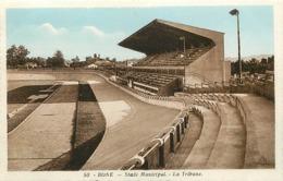 Pays Div- Ref U297- Algerie - Annaba - Bone - Sports  - Stades -  Stade Municipal - La Tribune - - Annaba (Bône)