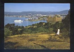 Oslo. *View Of The Town...* Circulada Oslo 1980. - Noruega