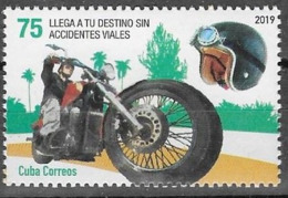 ROAD SAFETY, 2019, MNH, MOTOBIKES, CRASH HELMETS,  1v - Motorräder