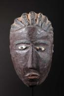 Masque Africain Masque De Famille Baoulé - Art Africain
