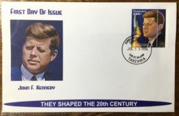 Kennedy Tanzania Fdc Space Moon Landing - Kennedy (John F.)
