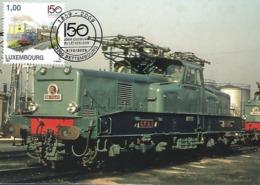 4.10.2009  -  Locomotive électrique Série 3600-Constructeur MTE/le Creusot-Type BB 3600 - Photo CFL - Cartes Maximum
