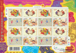 Hong Kong 1172-1175 ZD-archery (complete Issue) Unmounted Mint / Never Hinged 2004 Kids Games - 1997-... Chinese Admnistrative Region