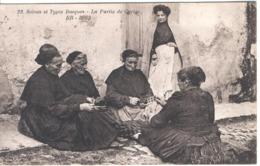 Scènes Et Types Basques - La Partie De Cartes. - France