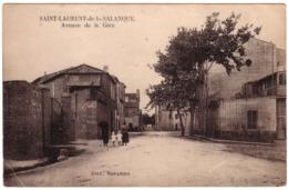 SAINT-LAURENT-DE-LA-SALANQUE - Avenue De La Gare - Frankrijk