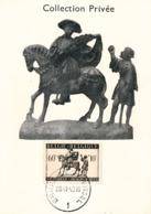 BELGIUM  1942 ISSUE SAINT MARTIN COB 606 MC - Maximum Cards