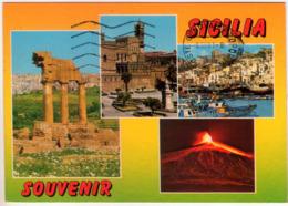Souvenir Di Sicilia. Multivisione. VG. - Unclassified