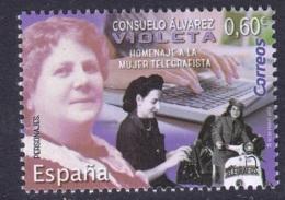 10.- SPAIN ESPAGNE 2019 . Consuelo Álvarez, Violeta. Tribute To The Female Telegraphist - Telecom