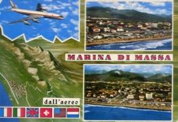 Marina Di Massa - Dall'aereo - Formato Grande Viaggiata – E 14 - Massa