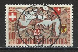 SBK B13, Mi 396 Stempel Rütli - Used Stamps