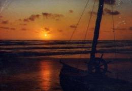 Marina Di Massa - Il Comiato Del Sole - Formato Grande Viaggiata – E 14 - Massa