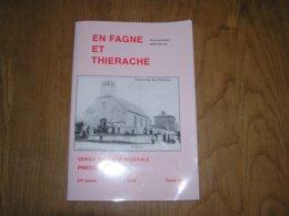 EN FAGNE ET THIERACHE N° 197 Régionalisme Captivité Stalag XII A Guerre 40 45 Prisonnier Nismes Sorcellerie Gonrieux - Culture