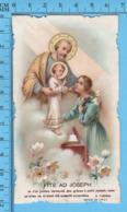 Die Cut,   - St-Joseph, Ite Ad Joseph -   Holy Card, Santini, Image Pieuse - Images Religieuses