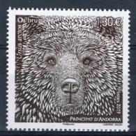 Andorra (French Adm.), Eurasian Brown Bear, 2019, MNH VF - French Andorra