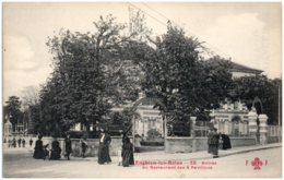95 ENGHIEN-les-BAINS - Entrée Du Restaurant Des 4 Pavillons - Enghien Les Bains