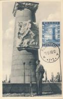 BELGIUM  1950 ISSUE COB 825 MC - Maximum Cards