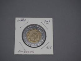 Algeria 2002 40th Anniversary Of Independence 100 Dinars Bi-metallic VG - Algeria