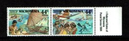 Micronesia 1988 Sc # C37 / C38  MNH **  Airmails - Micronésie