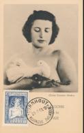 BELGIUM  1951 ISSUE PAIX COB 844 MC - Maximum Cards