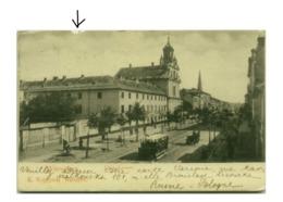 POLAND - WARSZAWA - ULICA LESZNO - EDIT K. WOJUTYNSKI - MAILED IN ITALY 1900s (BG5418) - Poland