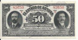 MEXIQUE 50 CENTAVOS 1913 UNC P S1070 - Mexico