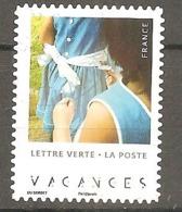FRANCE 2019 Y T N ° 1??? Oblitéré CACHET ROND VACANCES - Used Stamps