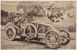 Grand Prix De L'A.C.F - SISZ Sur Voiture Renault - France