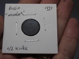 RUSSIA. 1/2 KOPEK 1897. NICHOLAS II - Russland