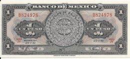 MEXIQUE 1 PESO 1961 UNC P 59 G - Mexico