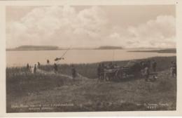 AK - (Südböhmen) TREBONSKO (Wittingauer Becken) - Fischer Kommen Mit Dem Pferdefuhrwerk Zum Fischen 1928 - Tschechische Republik