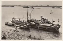 """AK - HAAFTEN Im Gelderland - Schiff """"Franja"""" Am Übernachtungshafen - Niederlande"""