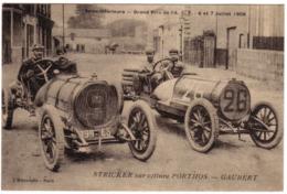 Grand Prix De L'A.C.F - STRICKER  Sur PORTHOS-GAUBERT - France