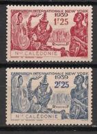 Nouvelle Calédonie - 1939 - N°Yv. 173 à 174 - Exposition De New York - Neuf Luxe ** / MNH / Postfrisch - Neukaledonien