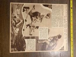 1932 1933 M JO JEUX OLYMPIQUES FEMININ  ALICE MILLIAT HERAIA FSFI - Sammlungen