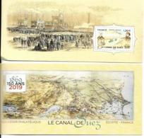 B.S  3.00 Nvtés 2019    4.00 €    - Le Canal De Suez - Souvenir Blocks & Sheetlets