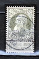 Nr 75 Gestempeld Merchtem Coba 10 - 1905 Grosse Barbe