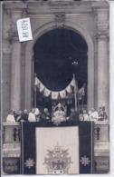 VATICAN- CARTE-PHOTO- LE PAPE PIE XI - PAQUES 1933- BENEDICTION URBI ET ORBI DEVANT 300000 FIDELES - Vatican