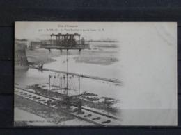 F15 - 35 - Saint Malo - Le Pont Roulant à Marée Basse - Collection Germain Fils Ainé - Précurseur - Saint Malo