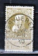Nr 75 Gestempeld Tervueren - 1905 Grosse Barbe