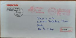 1984 Belgie - Happy With Honda 105.00 -  EMA Meter On Registered Coverto Italy (Piaggio Pontedera) - Moto