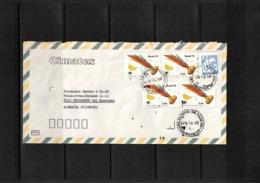 Brazil 1980 Interesting Airmail Letter - Brazilië