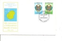 Armoiries ( FDC De Nauru De 1978 à Voir) - Briefe U. Dokumente